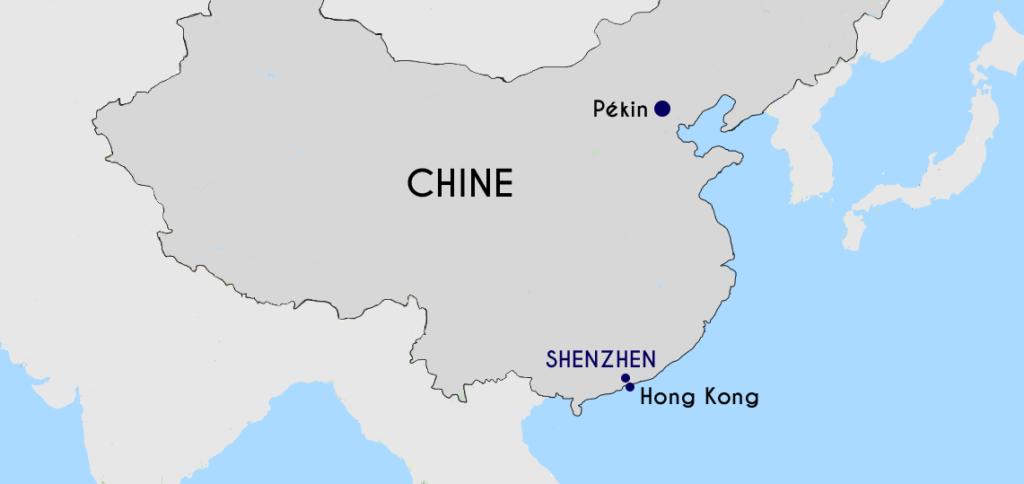 shenzhen-carte-chine